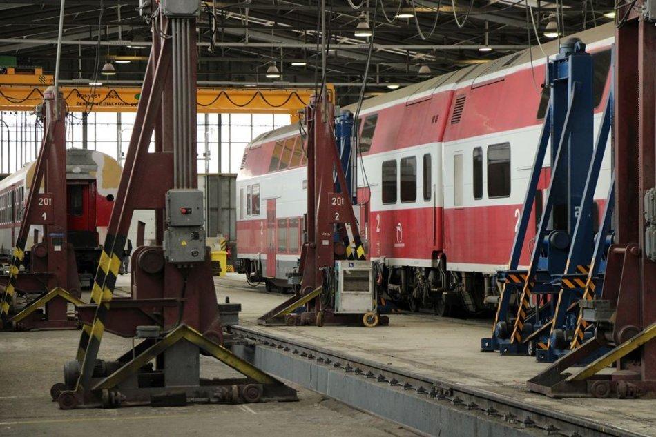 Ilustračný obrázok k článku V Zámkoch vznikne moderné stredisko: Bude sa starať o čistotu a údržbu vlakov, FOTO