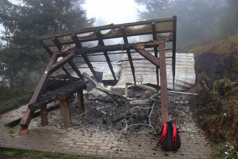 Ilustračný obrázok k článku Pohľad, ktorý zabolí nielen vášnivých turistov: Útulňa Grandhotel Partyzán vyhorela