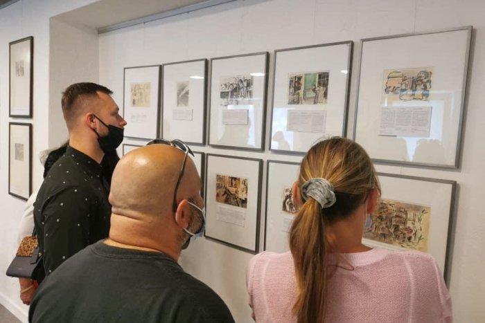 Ilustračný obrázok k článku Silný príbeh z koncentračného tábora ponúka výstava v Múzeu Vtedy v Prievidzi
