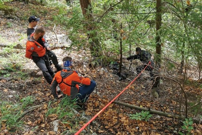 Ilustračný obrázok k článku Hrozný pohľad v Slovenskom raji: Turisti objavili telesné pozostatky!