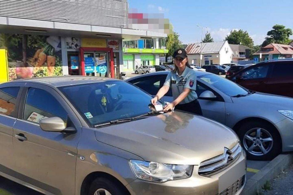 Ilustračný obrázok k článku Políciu zaujali autá odstavené na parkoviskách pri nákupných centrách v Michalovciach