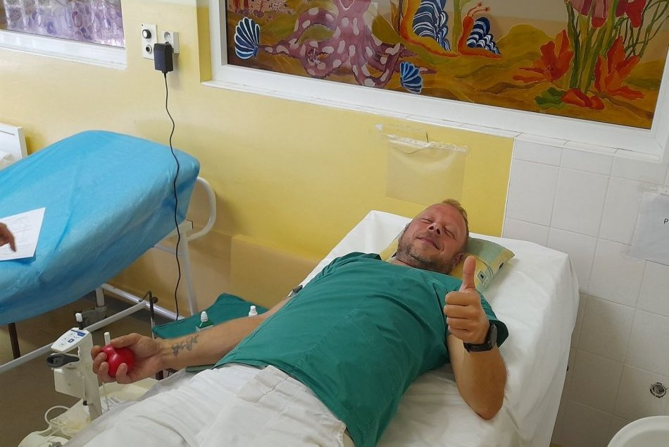 Ilustračný obrázok k článku Nemocnica bojovala s nedostatkom krvi: Pomohli dobrovoľní darcovia, FOTO
