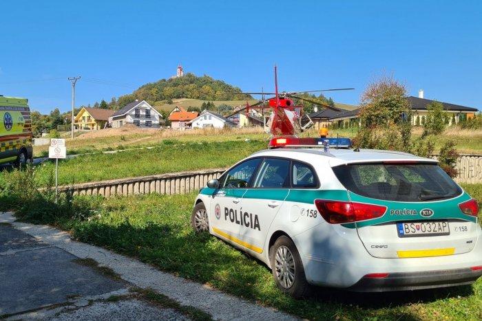Ilustračný obrázok k článku Nešťastie v Banskej Štiavnici: Muž spadol z lešenia, prevážal ho záchranársky vrtuľník