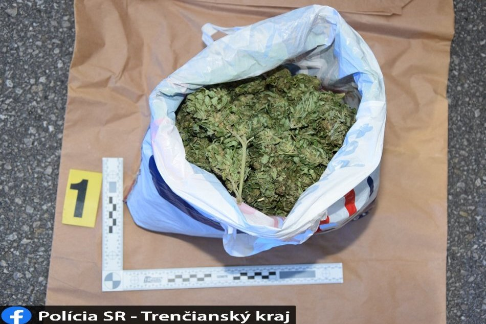 Ilustračný obrázok k článku Konopné zásoby odhalili policajti na Považí: Posedí si u nás Čech 15 rokov? FOTO