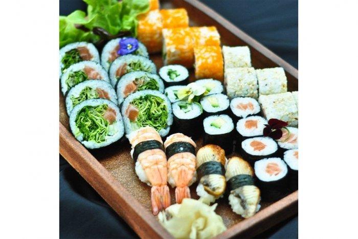 Ilustračný obrázok k článku Čerstvé sushi uvás doma každý piatok aj vo Zvolene
