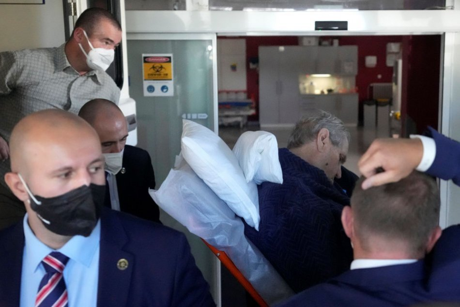 Ilustračný obrázok k článku Český prezident Zeman leží na ARO: Nemocnica prehovorila o jeho zdravotnom stave