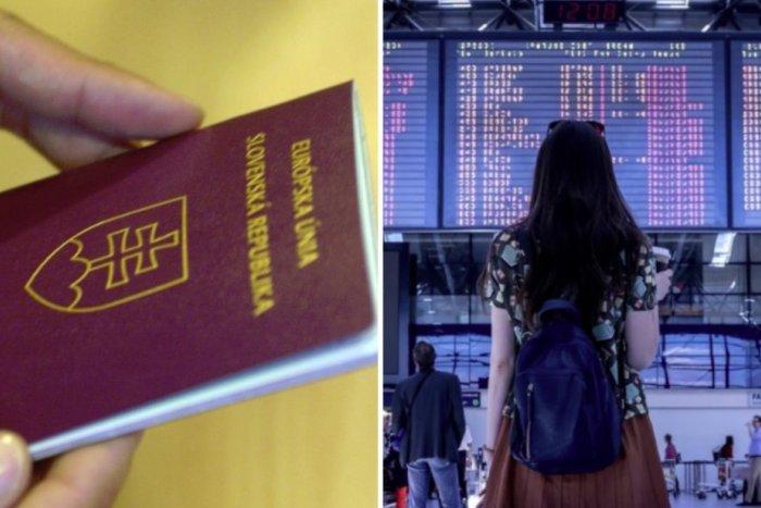 Ilustračný obrázok k článku SVET O SLOVENSKU: Predbehli sme aj Monako! Náš cestovný pas je v TOP 10 najsilnejších