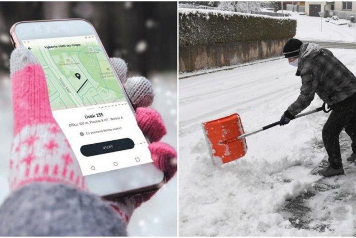 Ilustračný obrázok k článku Privyrobte si v zime odpratávaním snehu. Stačí si adoptovať chodník a kúpiť lopatu